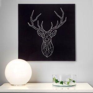 Silver Deer Artwork